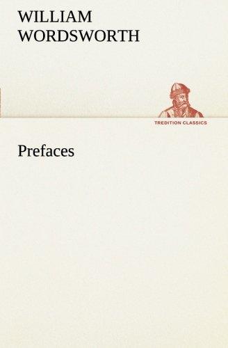 9783849559670: Prefaces