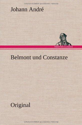 9783849559823: Belmont Und Constanze (German Edition)