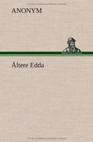 9783849559830: Altere Edda