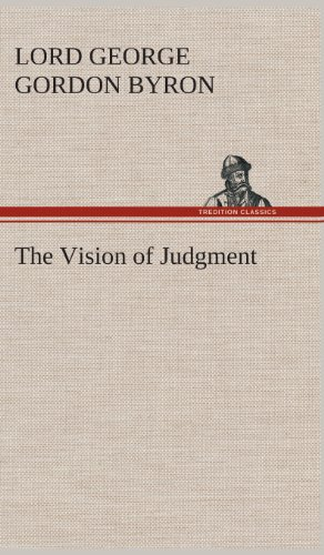 9783849560706: The Vision of Judgment