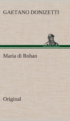 9783849561352: Maria di Rohan: Original