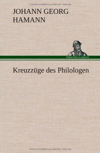 9783849562304: Kreuzzüge des Philologen