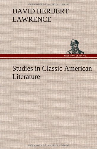 9783849563196: Studies in Classic American Literature