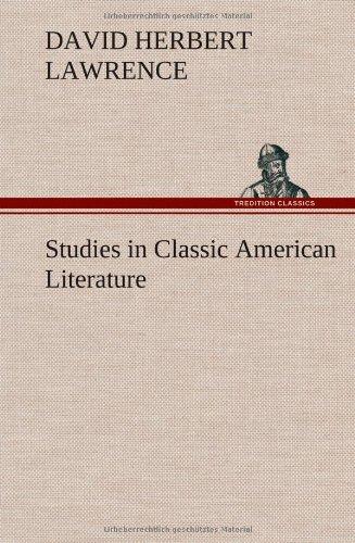 9783849563196: Studies in Classic American Literature