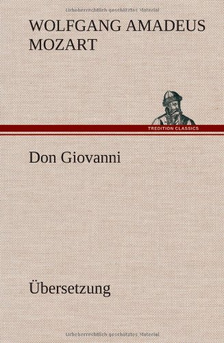 9783849564193: Don Giovanni (German Edition)