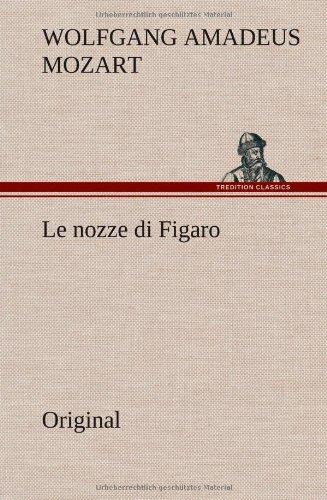 9783849564247: Le nozze di Figaro: Original