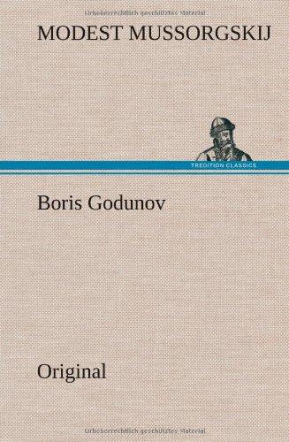 Boris Godunov: Modest Mussorgskij