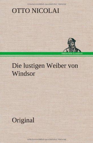 9783849564360: Die Lustigen Weiber Von Windsor (German Edition)