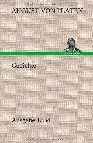 Gedichte: August Von Platen