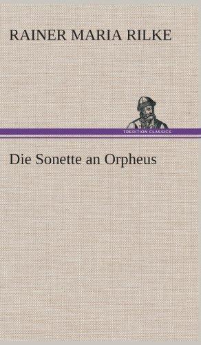 9783849564889: Die Sonette an Orpheus