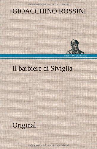 9783849565008: Il Barbiere Di Siviglia (Italian Edition)