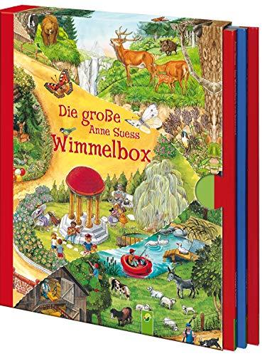 9783849901288: Die große Anne Suess Wimmelbox: 3 Wimmelbücher im Schuber