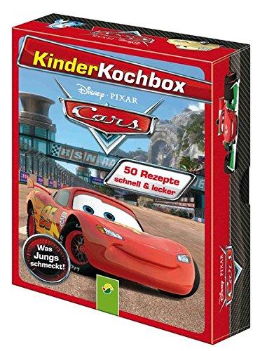 9783849902636: Disney Kinderkochbox - Cars: Was Jungs schmeckt- Box mit 50 Rezeptkarten