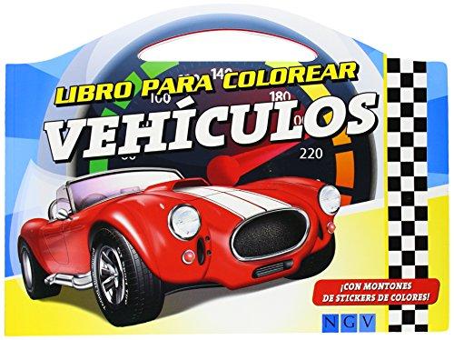 9783849903046: Vehículos. Libro Para Colorear