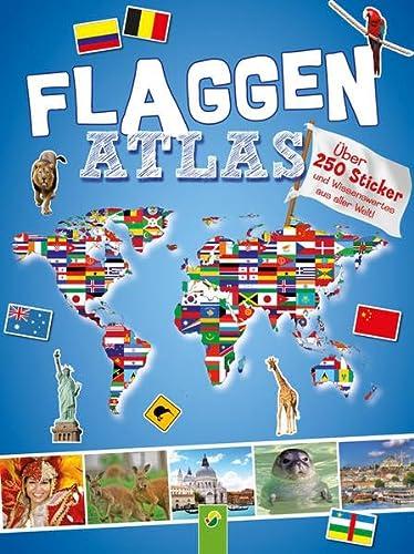 9783849903268: Flaggenatlas mit Stickern