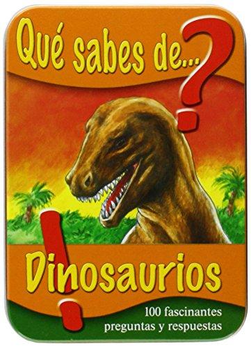 9783849903374: QUE SABES DE DINOSAURIOS - CAJA METALICA