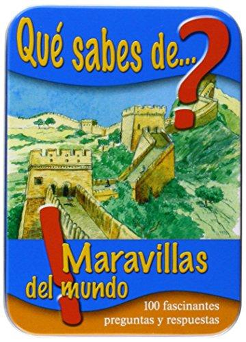 9783849903442: Qué Sabes De Maravillas Del Mundo