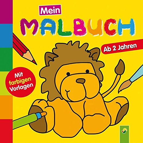 Mein erstes Malbuch (Löwe): Ab 2 Jahren