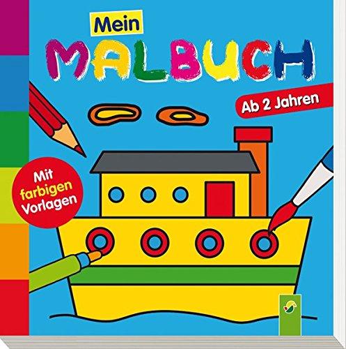 9783849904333: Mein erstes Malbuch (Schiff)