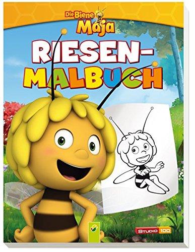 9783849904357: Die Biene Maja - Riesenmalbuch