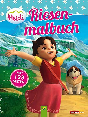 9783849904364: Heidi - Riesenmalbuch