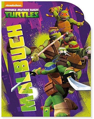 9783849904432: Teenage Mutant Ninja Turtles - Malbuch: Konturenmalbuch