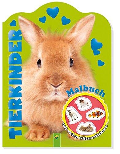 9783849904739: Glitzersticker-Malbuch Tierkinder (Hase)