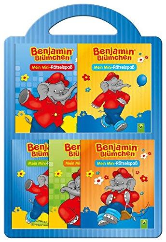 9783849904845: Benjamin Blümchen- 5 Minibücher im Set: Mein Mini-Rätselspaß