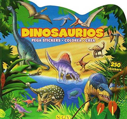 9783849905149: Dinosaurios. Pega Pegatinas