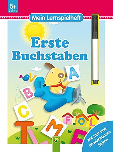 9783849906382: Erste Buchstaben - Mein Lernspielheft: Mit Stift und abwischbaren Seiten
