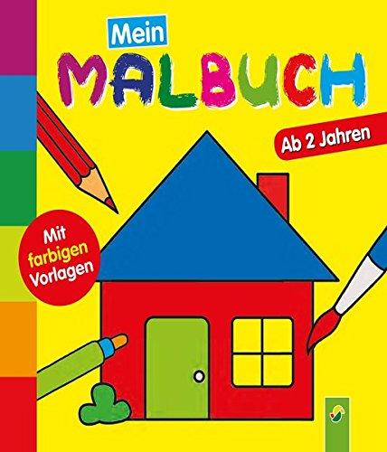 9783849906634: Mein erstes Malbuch (Haus)