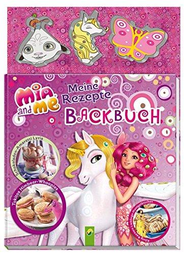 Mia and me: Meine Rezepte - Backbuch: Buch mit 3 Ausstechförmchen: .