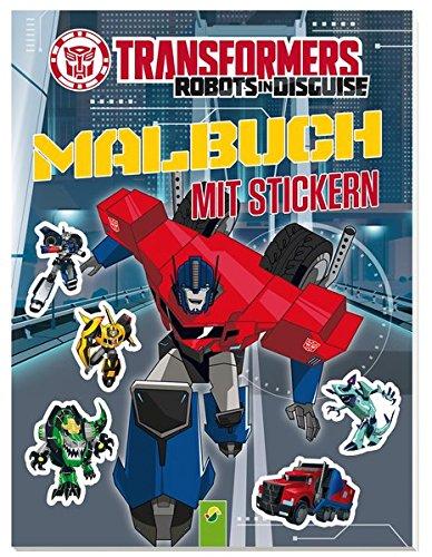 9783849907891: Transformers Malbuch mit Stickern