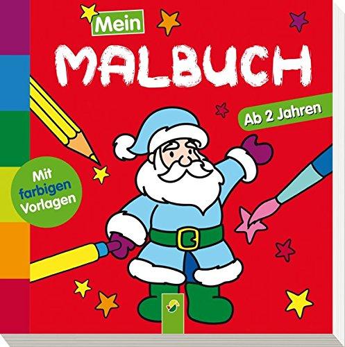 Mein Malbuch Weihnachten: Ab 2 Jahren (Paperback)