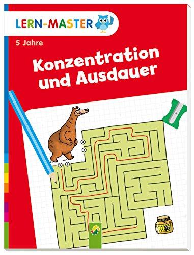 Lern-Master Konzentration und Ausdauer: Ab 5 Jahren