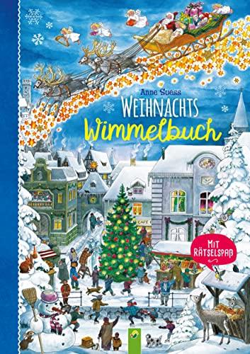 9783849917340: Weihnachtswimmelbuch: Mit Rätselspaß