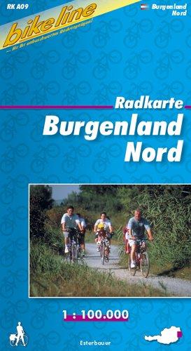 9783850000178: Bikeline Radkarte �sterreich Burgenland Nord 1 : 100 000