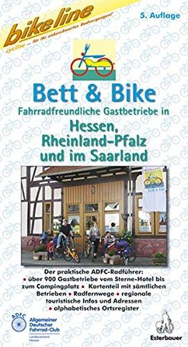 9783850000345: Bikeline Bett und Bike Hessen, Rheinland-Pfalz und Saarland.