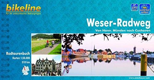 9783850000352: Weser Radweg Hann. Munden-Cuxhaven: BIKE.485
