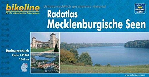 9783850000666: Bikeline Radatlas Mecklenburgische Seen: Radtourenbuch und Karte. Ein original bikeline-Radtourenbuch