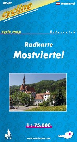 9783850001113: Mostviertel Cycle Map 2003