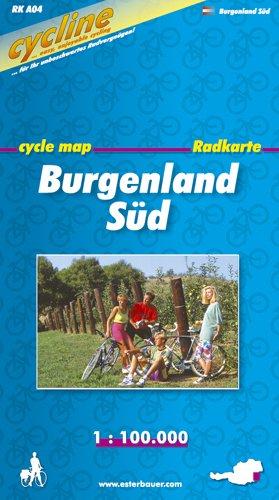 9783850001168: Bikeline Radkarte �sterreich Burgenland S�d 1 : 100 000