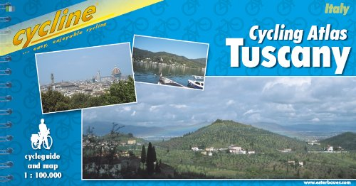 9783850001199: Cycling Tuscany: Cycle Guide and Map BIKE.IT.26.E (Cycline)
