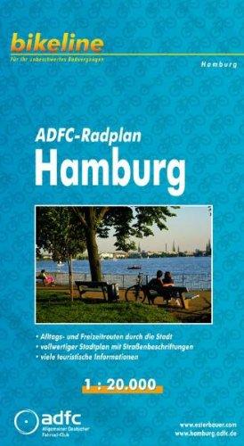 Hamburg Cycle Map ADFC: BIKEK.DE.HH - Maxwell, James Clerk