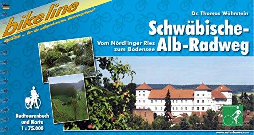 9783850001328: Schwabische-Alb-Radweg Vom Nordlinger Ries Zum Bodensee: BIKE.440