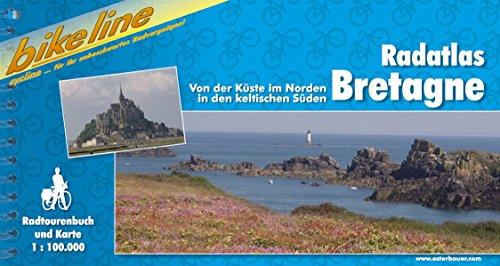 9783850001366: Bretagne Radatlas Von Der Kuste Im Norden In Den Keltischen Suden: BIKE.FR.05