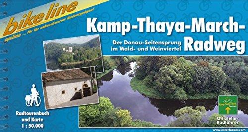 9783850001861: Kamp-Thaya-March-Radweg Im Waldviertel Und Weinviertel: BIKE.AT.045