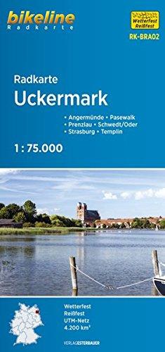 9783850002219: Bikeline Radkarte Deutschland Uckermark 1 : 75 000: Angermünde - Pasewalk - Prenzlau - Schwedt/Oder - Strasburg - Templin