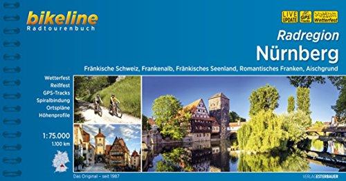 9783850002271: Bikeline Radatlas Nürnberg: Fränkische Schweiz, Frankenalb, Fränkisches Seenland, Romantisches Franken, Aischgrund. 1.137 km