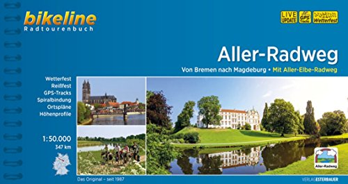 9783850002363: Bikeline Aller Radweg: Von Bremen nach Magdeburg. Mit Aller-Elbe-Radweg - 347 km